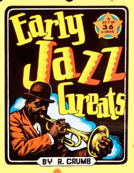 Early Jazz Greats Card Set